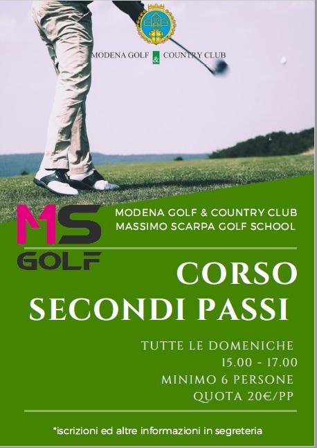 Golf Clinic SECONDI PASSI